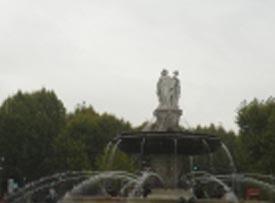 Pluie à Aix