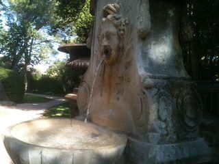Fontaine d'août 2