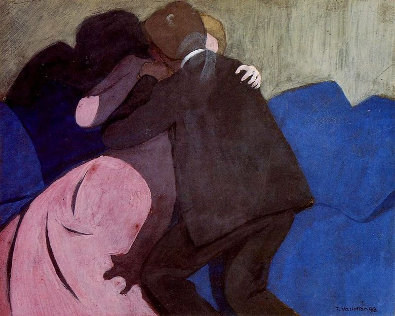 Vallotton, The Kiss