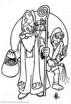 Père Fouettard vs père Noël