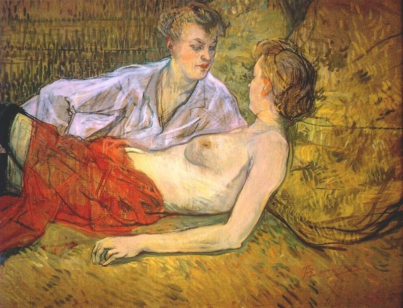 Toulouse-Lautrec, The Two Girlfriends